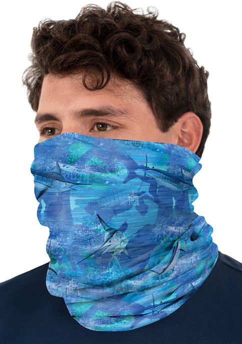 Guy Harvey® Adult Camo Marine Neck Gaiter