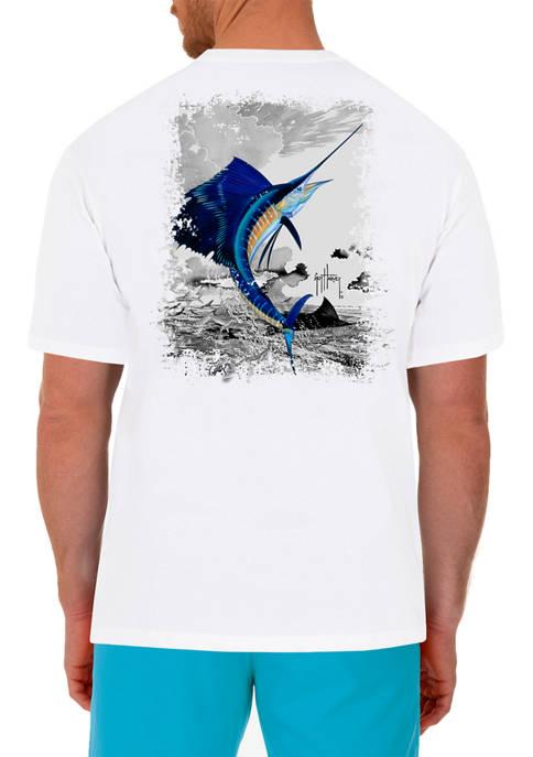 Guy Harvey® Leaping Sailfish Short Sleeve T-Shirt
