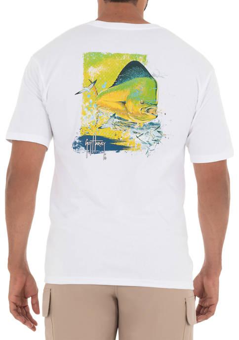 Guy Harvey® Mahi Time Short Sleeve Pocket T-Shirt