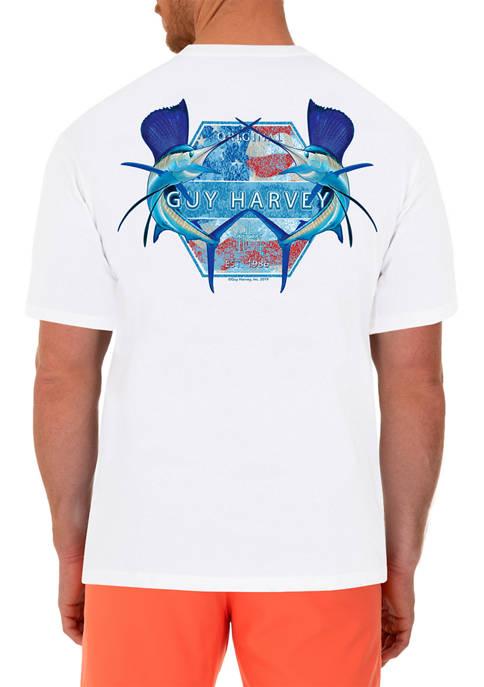 Guy Harvey® Patriotic Sailfish Short Sleeve T-Shirt