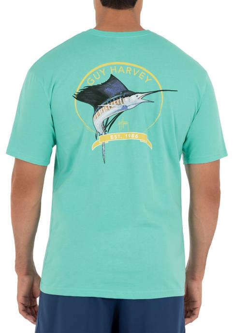 Guy Harvey® Core Sailfish Short Sleeve Pocket T-Shirt