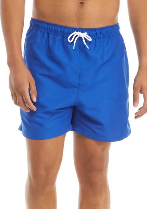 Guy Harvey® Solid Swim Trunks