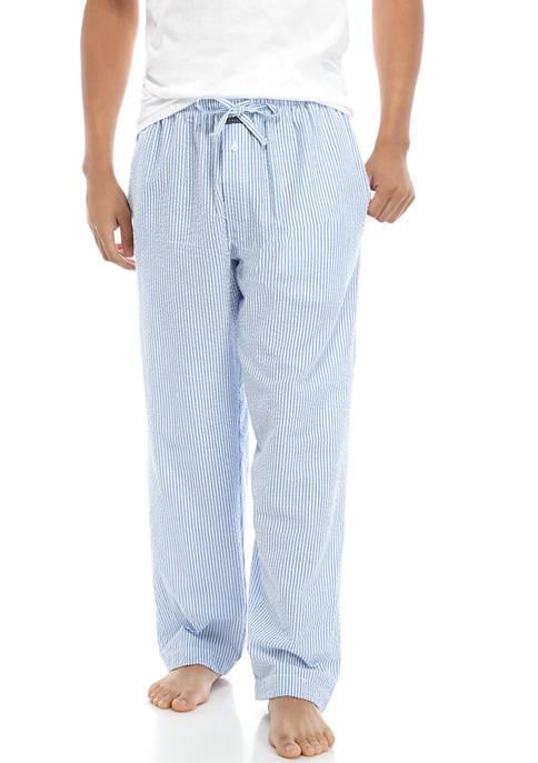 Crown & Ivy™ Mens Seersucker Pajama Pants
