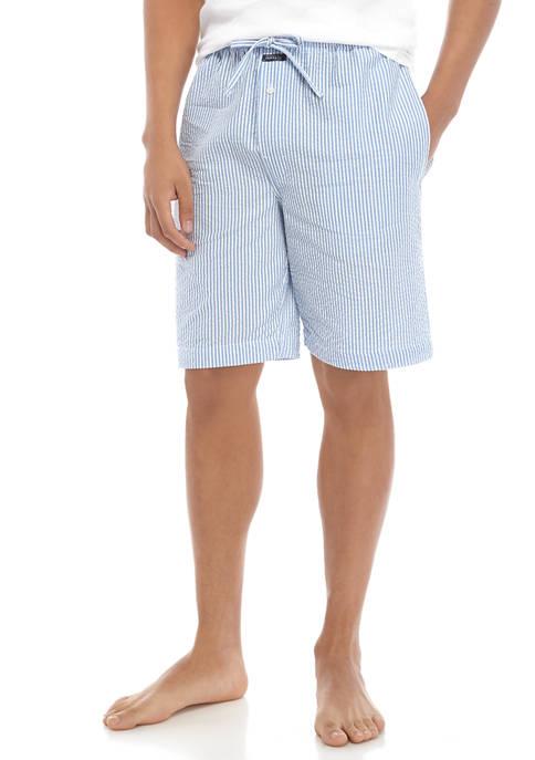 Crown & Ivy™ Mens Seersucker Pajama Shorts