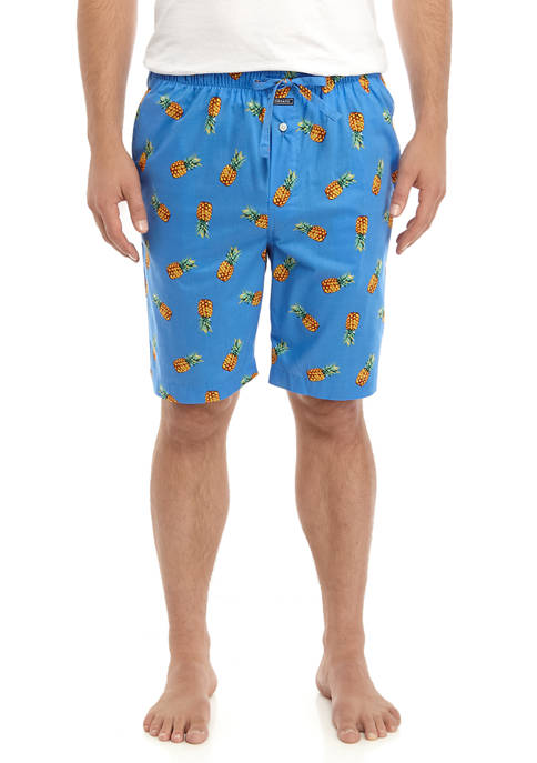 Crown & Ivy™ Pineapple Print Pajama Shorts