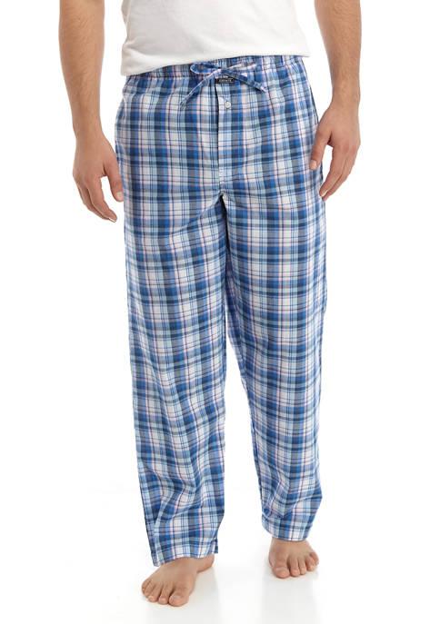 Crown & Ivy™ Mens Plaid Sleep Pants