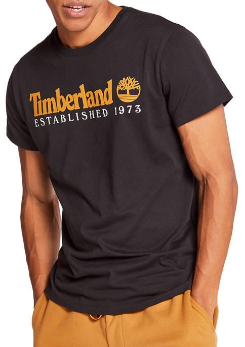Mens Short Sleeve Established Graphic T-Shirt
