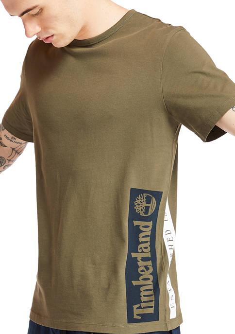 Mens Short Sleeve Established 1973 Grape Leaf Dark Sphere T-Shirt