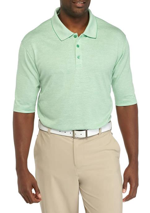 Haggar® Big & Tall Short Sleeve Pique Polo