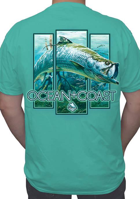 Ocean & Coast® Mens Breakout Tarpon Short Sleeve