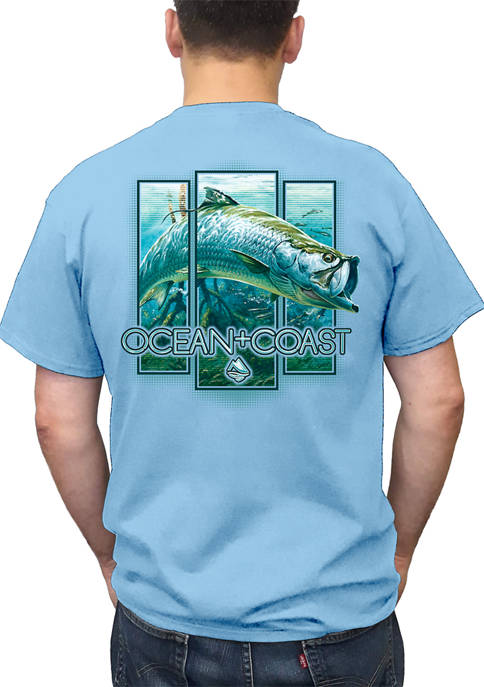 Ocean & Coast® Mens Breakout Tarpon Short Sleeve