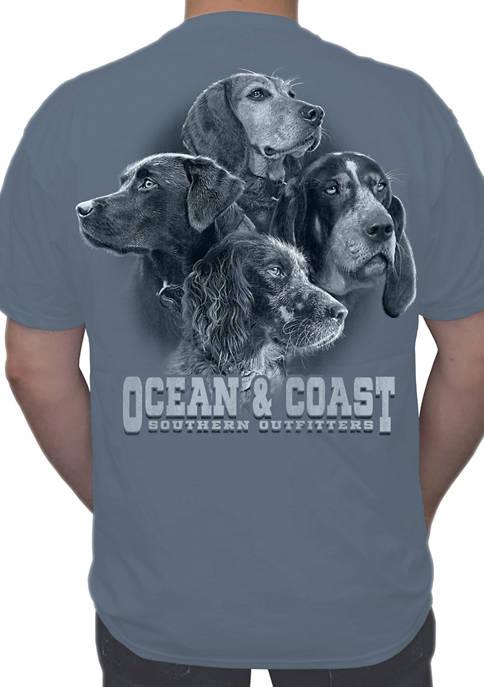 Ocean & Coast® Mens Dog Days Short Sleeve