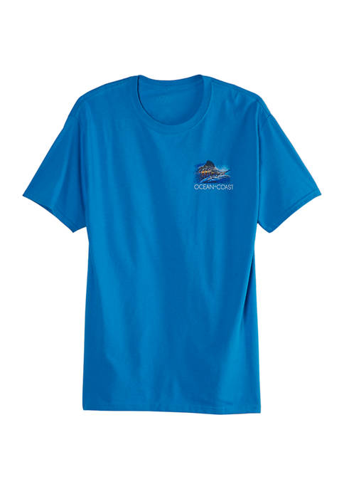 Ocean & Coast® Hyper Style Marlin Graphic T-Shirt