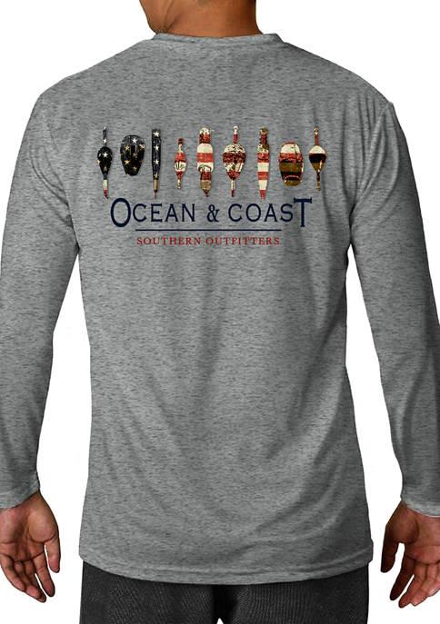 Ocean & Coast® Short Sleeve Cotton Bobbers Graphic
