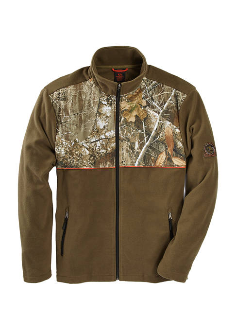 X Real Tree Full Zip Fleece Jacket