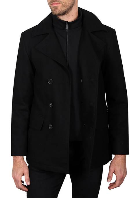 Haggar® Waterproof Wool 4 Pocket Field Jacket
