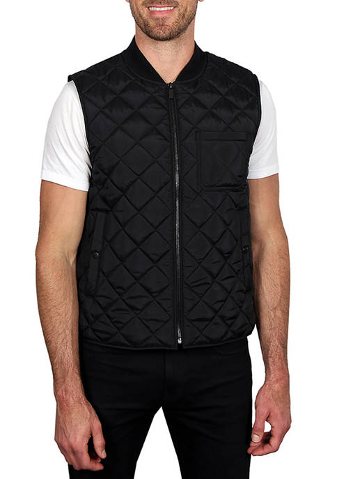 Haggar® Mens Quilted Lightweight Vest