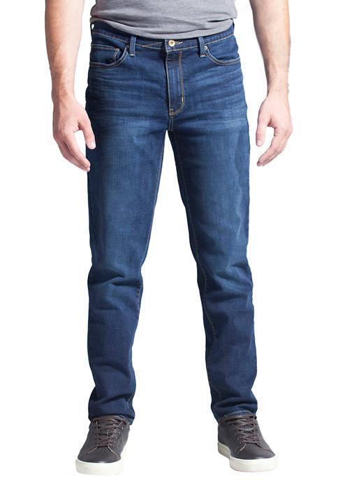 Taper Fit Performance Stretch Denim Jeans