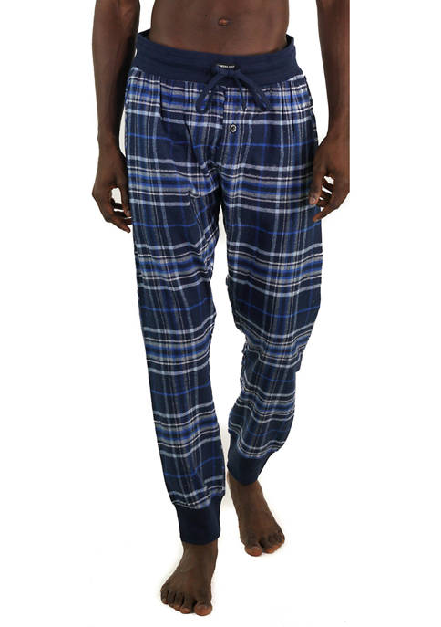 Members Only Flannel Jogger Pants