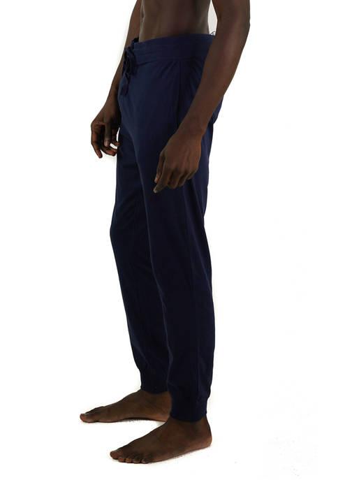 Jersey Knit Jogger Lounge Pants
