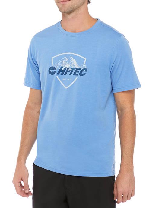 HI-TEC® Short Sleeve Bluff Head Graphic T-Shirt