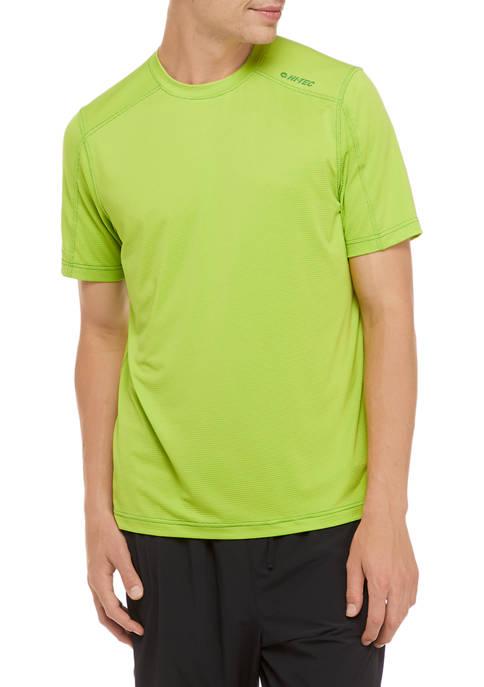 HI-TEC® Henderson Textured Grid Short Sleeve Shirt