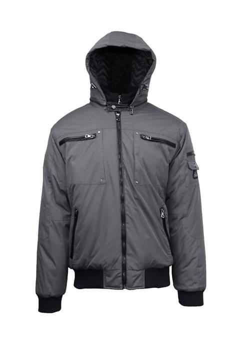 Mens Heavyweight Moto Jacket