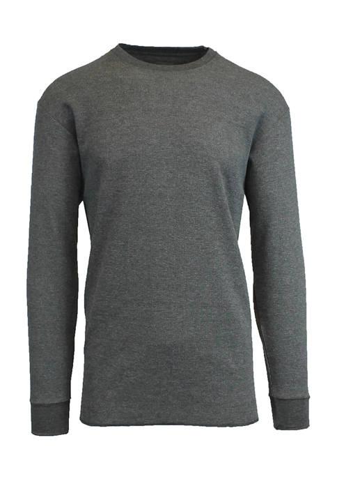 Mens Waffle Knit Thermal Shirt