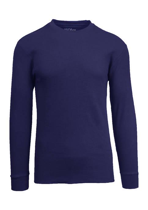 Galaxy Mens Waffle Knit Thermal Shirt