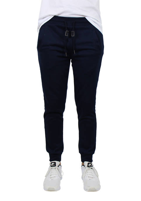 Galaxy Mens Slim Fit French Terry Jogger Sweatpants