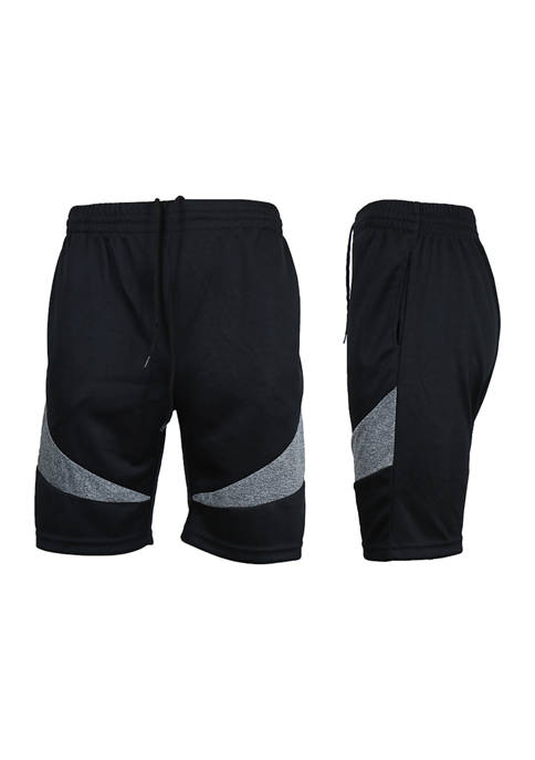 Galaxy by Harvic Mens Moisture-Wicking Active Mesh Shorts