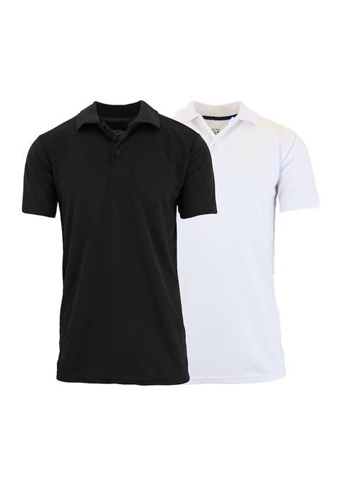 Galaxy Mens Tagless Dry Fit Polo Shirt 2