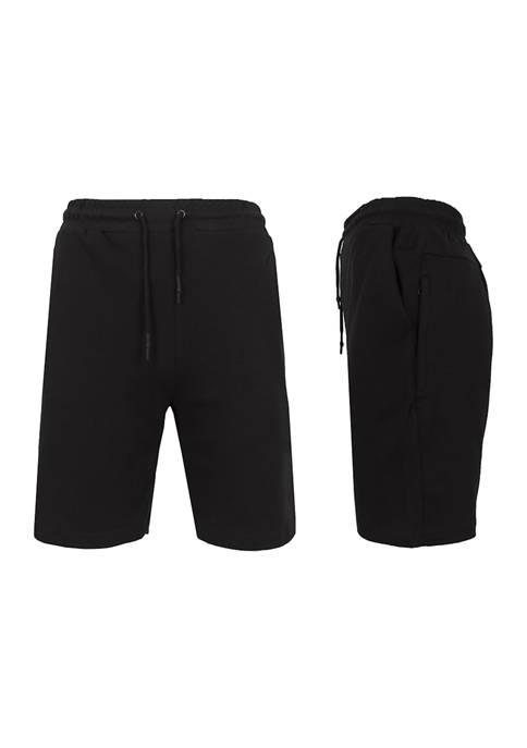 Galaxy by Harvic Tech Fleece Jogger Shorts With