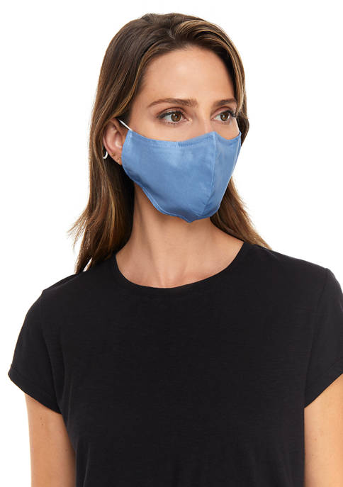 Adult Solid Cone Flat 3 Pack Reusable Masks