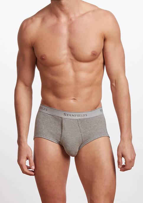 Stanfield's Mens Premium 100% Cotton Brief Underwear- 3