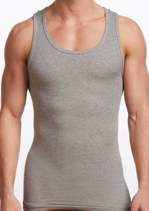 Stanfield's Mens Premium 100% Cotton Athletic Tank Undershirt