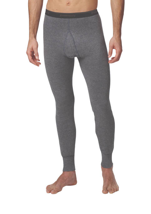 Mens Essentials Two Layer Thermal Long Johns Underwear
