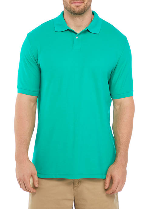Big & Tall Short Sleeve Piqué Polo Shirt