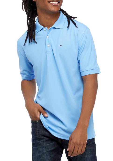 Crown & Ivy™ Short Sleeve Polo Shirt