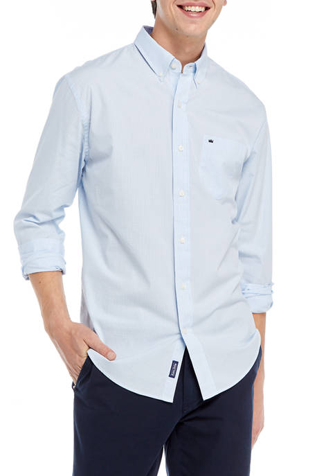 Crown & Ivy™ Icon Gingham Woven Shirt