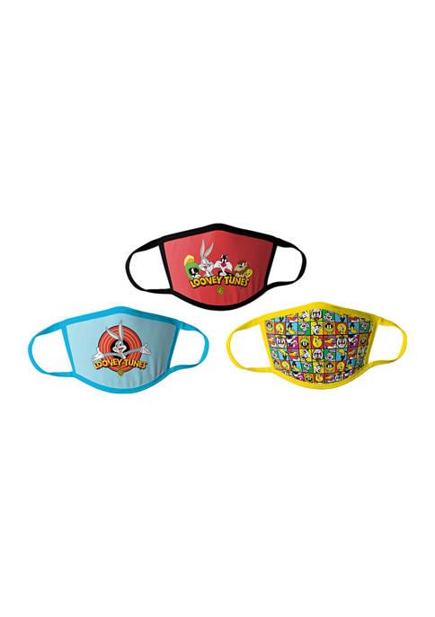 Handcraft Set of 3 Adult Looney Tunes Masks