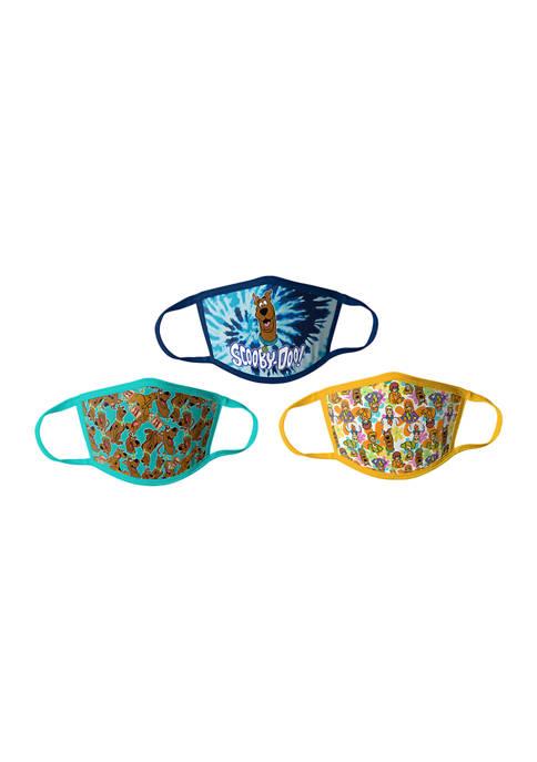 Handcraft Set of 3 Kids Scooby Doo Masks