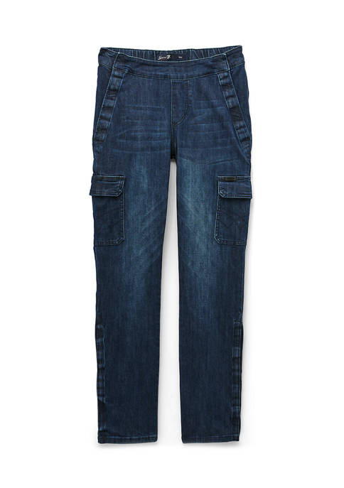 Seven7 Jeans Mens Adaptive Slim Fit Seated Jeans