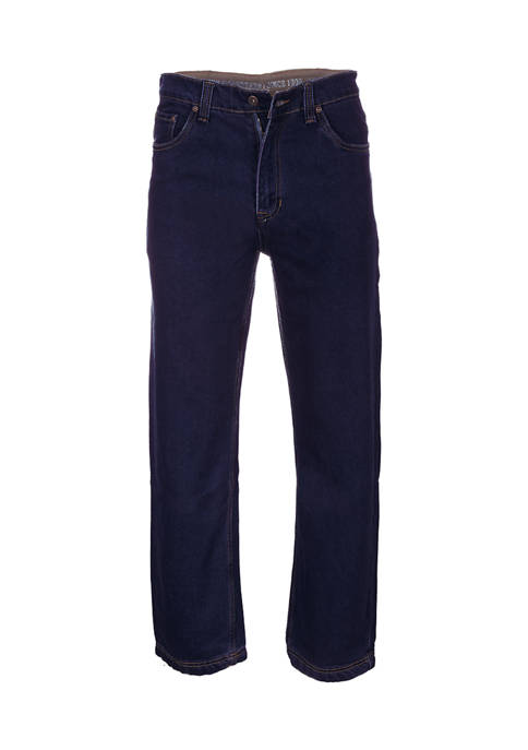 Stretch 5 Pocket Relaxed Fit Jeans