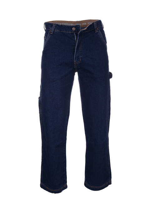 Stretch Relaxed Fit Carpenter Jeans