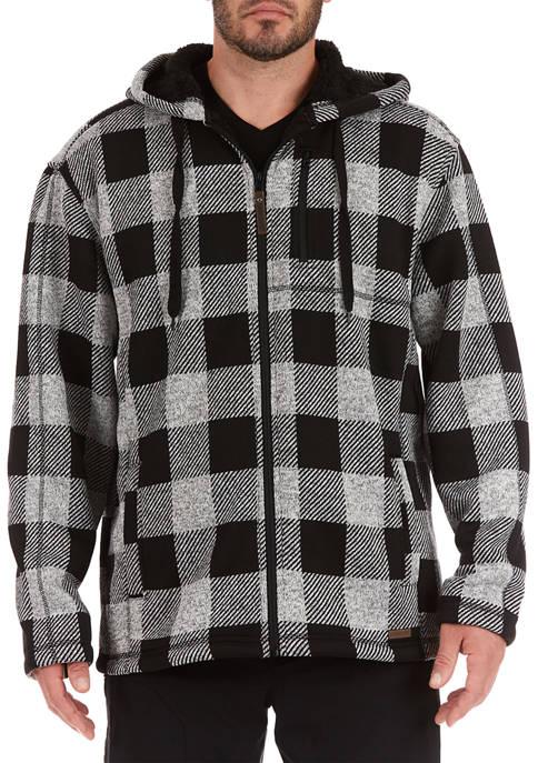 Smith's Workwear Buffalo Sweater Fleece Hooded Jacket