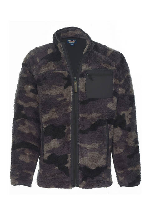 Smith's Workwear Camo Butter Sherpa Full Zip Jacket