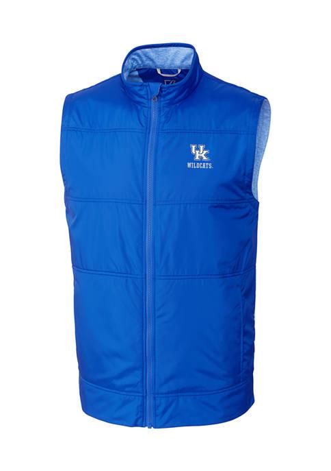 Big & Tall NCAA Kentucky Wildcats Stealth Full Zip Vest