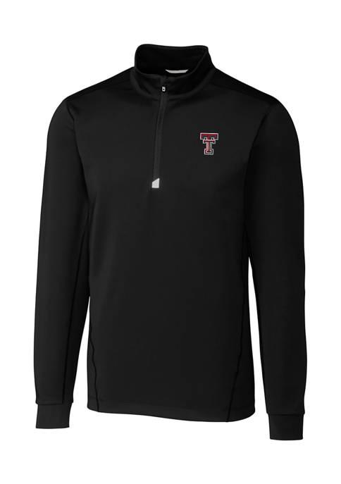 Big & Tall NCAA Texas Tech Red Raiders Traverse Half Zip  Pullover