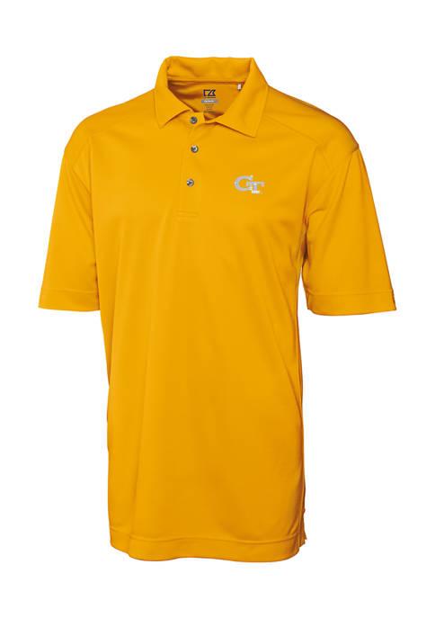 Big & Tall NCAA Georgia Tech Yellow Jackets CB DryTec Genre Polo Shirt